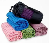 yoga battaniyeleri ücretsiz gönderim toptan satış-EMS Tarafından ücretsiz Nakliye Birinci sınıf kalite Yoga Battaniye 180 cm Genişletilmiş yoga havlu, yoga mat 15 adet