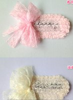 Wholesale Hairbands Girls Feather Headband Weave - 6 pcs lot Flower New Hairbands,Girls Feather Headband,Fashion Knitting Hair Weave,New Hair Accessories xth127