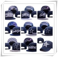 Wholesale Snapback Ball Top - Wholesale Snapback Caps Adjustable Cap Sport Hats Cowboy Snapback Football Cap Navy Blue Snapback Hats Caps Top Quality Hellosport86