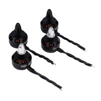 Wholesale Set Rc Helicopter - 4Pcs MARSPOWER 2205 2300KV CW CCW Motor Prop Nut Set for FPV Racing RC Quadcopter Helicopter Drone