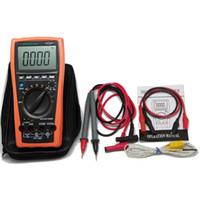 multimetre otomatik aralık kapasitesi toptan satış-Freeshipping LCD Otomatik aralığı multimetre Kapasite Direnci