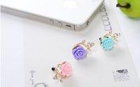 Wholesale Headphone Jewelry Plug - Delina 10 Mobile jewelry, creative diamond, Japan and South Korea headphone hole