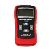 scanner für fahrzeuge großhandel-KW807 OBD2 OBDII LCD Auto Code Scan Tool AUTO Automotive Lkw Diagnosewerkzeug Computer Fahrzeug Fehler Reader Scanner