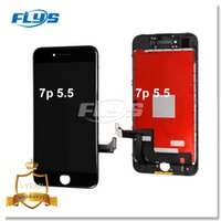 Grado AAA +++ Display LCD Touch Screen Digitizer Schermo completo con telaio Assemblaggio completo per iPhone 7 Plus 5.5 pollici DHL libero