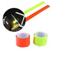 Wholesale cycling arms legs for sale - Reflective Bands Leg Arm Strap Bike Bicycle Safety Pant Belt Glow for Cycling Jogging Camping