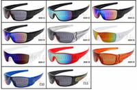 ingrosso caldo cami-Hot newest SUMMER UOMINI sport Camouflage occhiali da sole occhiali protettivi moda donna Outdoor camo ciclismo occhiali 10 colori spedizione gratuita
