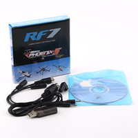 Wholesale Flysky Rc - Wholesale-22 in 1 22in1 RC USB Flight Simulator Cable for Realflight G7   G6 G5.5 G5 Phoenix 5.0 Flysky FS-I6 FS-TH9X FS-T6 FS-CT6B