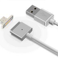 manyetik şarj adaptörü usb kablosu toptan satış-Manyetik USB Kablosu Mikro V8 Yüksek Hızlı Şarj Data Sync USB tarihi Kablolar Şarj adaptörü Samsung not 4 5 S6 Için 1 m 3ft S7 kenar S8 LG