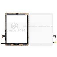 adhésif pour numériseur achat en gros de-huasha Pour iPad air Pour iPad 5 Écran Tactile Digitizer Assembly avec Bouton Home Bouton Adhésif Colle Autocollant