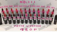 Wholesale Lipstick Tube Wholesaler - Factory Direct DHL Free Shipping New Makeup Lips M111 Metal Tube Matte Lipstick!36 Different Colors