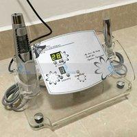 ev kullanımı iğne mezoterapi toptan satış-Hiçbir İğne Mezoterapi Terapi Cihazı Cilt Bakımı Taşınabilir İğne Ücretsiz Elektroporasyon Skar Akne Kaldırma Anti Aging Ev Kullanımı Güzellik Makinesi