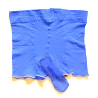 Wholesale Small Penis - Men Underwear Transparent Thin Trunk Stockings Small U Convex Penis Pouch Boxers Pants Sexy Temptation Erotic Lingerie