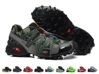 Wholesale Waterproof Walking Shoes Men - Wholesale New Arrival Hot Sell Sneakers Speedcross Shoes Waterproof Running Shoes Men Outdoor Sport Walking Shoes Drop Free Shipping