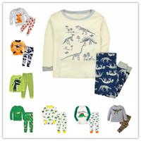 Wholesale Pijamas Boys - Dinosaur Boys Sleepwear Toddler Animal Pajamas Boy's Nightwear Clothing Set Infantil Pijamas Bebe Children's Night Wear Pyjamas
