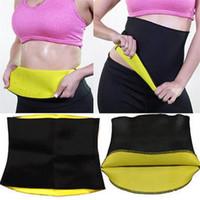 Wholesale Neoprene Slimming Shorts - 2017 Hot Neoprene Slimming Waist Belts Cinchers Body Shaper Slimming waist corsets Plus Size bodysuit women