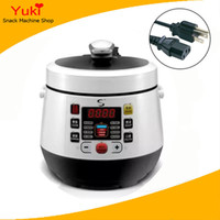 Wholesale Mini Electric Cooking Pot - 110V 220v electric pressure cooker mini rice cooker 2L pressure cooker instant pot booking function multifunction cooking appliances