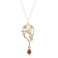 Wholesale Simple Statement Necklaces - 10pcs lot Fashion Style Simple Jewelry Alloy Silver Gold Color Animal Hummingbird Necklace & Pendant For Women Statement Necklace Wholesale