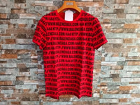 Wholesale Wild Shirt Women - Liu Siqi with the summer leisure trend of wild round neck English letter letter cotton Women's T-Shirt print short-sleeved T-shirt women