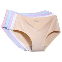 Wholesale Pregnant Women Underwear - Pregnant Women Lingerie Cotton Underwear Knickers Solid Seamless Stretch Briefs Pregnant women underwear new product explosion trace of ice