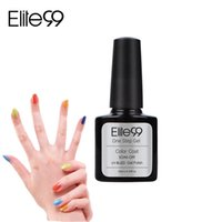 Wholesale One Step Nail Polish - Wholesale-Elite99 Hot Sale Nail UV Gel One Step 10ml 60 Fashion Color for Choose Long-lasting LED Gel Polish Top Fashion Limited Sale