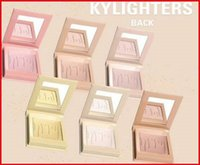 Wholesale Banana Test - 2017 HOTest New Kylie Cosmetics Highlighters Kylighters In Banana Split Kylighter kylie eyeshdow free shipping for sample test