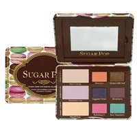 Wholesale sugar brand cosmetics for sale - IN STOCK Famous Brand sugar pop cat eyes totally cute eyeshadow palette makeup sweet eye shadow cosmetics set colors