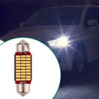 Acheter Double lumière de lecture-36mm 27SMD Car-styling Double Point High Light Auto Codage Lampe de lecture Led Intérieur Car LightsVoiture Bulbe à diodes électroluminescentes