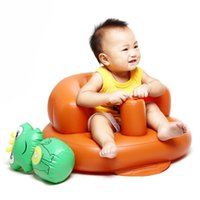 Wholesale children Inflatable Sleeping Sofa Package Post Original Authentic Children Inflatable Sofa Single Inflatable Chair Stool