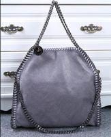 Wholesale Large Canvas Sizes - Import PVC Multicolor Stella bag Hihg quality women's MC chains bag Fashion Tote Shoulder Bags Large size 36cm