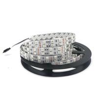 parlak kırmızı rgb toptan satış-Edison2011 SMD 5050 LED Şerit Süper Parlak 600 LEDs Çift Sıra 12 V Beyaz Sarı Kırmızı RGB LED ışıkları Olmayan Su Geçirmez Esnek Işık
