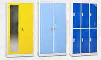 Wholesale Metal furniture steel cabinet clothes locker per month made by cold rolled steel Environmental powder coating