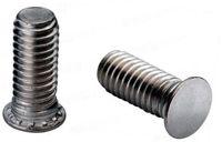 wholesale rivet nut UK - 50pcs Round head pressure riveting screw Blue white zinc cash commodity FH-M3-M8 mass stock can customize