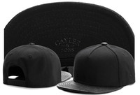 Wholesale Gorros Swag - Cayler & Sons blank leather brim toucas gorros Baseball Caps hip hop Sports Snapback hats chapeu de sol swag Men women