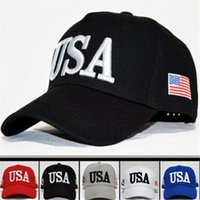 Snapback Sports Hats Fitted Baseball Caps USA Flag Mens Womens Fashion Adult Einstellbare Donald Trump Hut Cotton Cap machen Amerika Great Again
