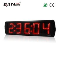 "Wholesale Race Timing Clock - [GANXIN]Red Color Portable 5"" 5 Digits Semi-outdoor Use LED Race Timing Clock For Running Events withTripod"