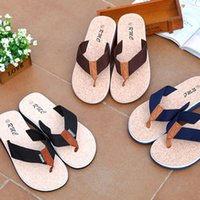 Wholesale Shoe Sandles - Summer Sandles Beach Shoes Unisex Fashion Slippers Beach Flip-flops PU Leather Slippers Casual Cool Slippers 40-45