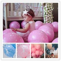 Wholesale Minnie Pearl - 12 Inch 20pcs Lot Boy Girl 1 Year Old Birthday Balloons Latex Balloons Happy Birthday Decoration Minnie Mouse Party Supplies Balloons