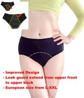 Wholesale Menstrual Panties - XL XXL XXXL Plus Size Women's Period Leak Proof Underwear Menstrual Panties Incontinence Panty Sleepwear Briefs Modal Apparel Clothing
