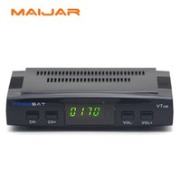 Wholesale Dvb S2 Hd - 5Pcs Free To Air Satellite Receiver Freesat V7 HD DVB-S2 Support Cccam Newcam Bisskey Poweru Youtube Youporn USB 3G Dongle Network Sharing
