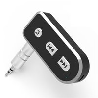 2016 Kit NUOVO Bluetooth Car Aux Adapter Receiver supporto IOS Siri viva voce Bluetooth per iphone 4s 5 5s 6 6s Ipad Music Receiver
