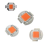 Wholesale wholesale chip beads - Full Spectrum led grow chips High Power 10W 30W 50W 100W 380NM-840NM DIY LED Grow Light Kit Epistar 35mil 45mil Pink led beads