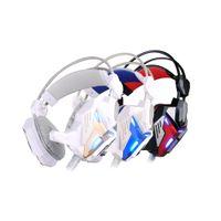 Wholesale Gamer Headphones Wholesalers - KOTION EACH G3100 gamer gaming headset headphones earphone earphones Wired stereo Bass LED headphone for computer pc