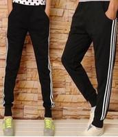 Wholesale Hip Hop Mens Leather Pants - Wholesale-New Kanye west Hip Hop big and tall Fashion zippers jogers Pant Men Black Joggers dance urban Clothing Mens faux leather Pants