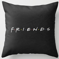 Barato Show Case Wholesale-Atacado- Hot Sale Popular Show de TV Amigável Simples Estilo Nice Zippered Square Vintage Throw Pillow Case Frete grátis