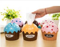 Wholesale tissue paper tube - Wholesale- Household cake paper towel tube tissue box