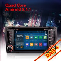 """Wholesale S3 Antenna - 7"""" 4-Core Anroid 5.1 DVD GPS AUDI A3 S3 RS3 RNSE-PU Stereo Radio GPS Wifi DTV-IN BT DAB+ Mirror Link"""