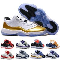 Wholesale Good Pig - Cheap Legend Blue Basketball Shoes (11)XI Good Quality Men Sports Shoes Women&mens Trainers Athletics Boots Air Retro 11 XI Sneakers 36-47