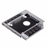 Wholesale hard drive caddy case for sale - Group buy SATA nd HDD HD Hard Drive Caddy Case for mm Universal Laptop CD DVD ROM
