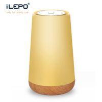 Wholesale Beat Speakers - Bluetooth LED Light Speaker S16A Ring Super Mini Portable Beat Hi-Fi Bluetooth Handfree Smart Phone Control the Bulb Color