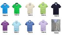 Wholesale Wholesale Brand Polo - 6pcs!New Arrive solid Turndown collar Brand 2017 Shirt Men Short Sleeve Casual Shirts Man's Shirt Plus size 6XL Polo 20color #930